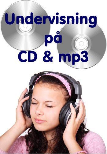 Muntlig undervisning på CD & mp3
