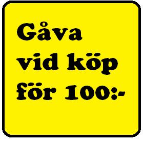 GRATIS vid köp för 100:-